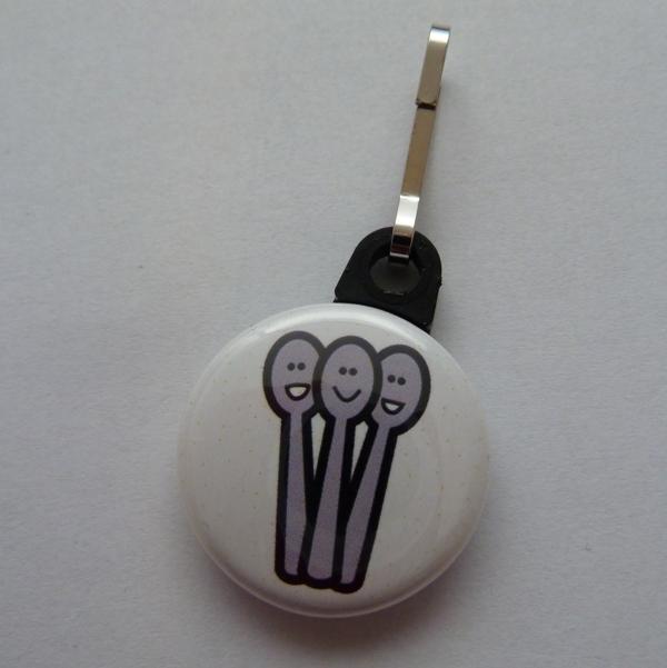 spoonie zipper pull