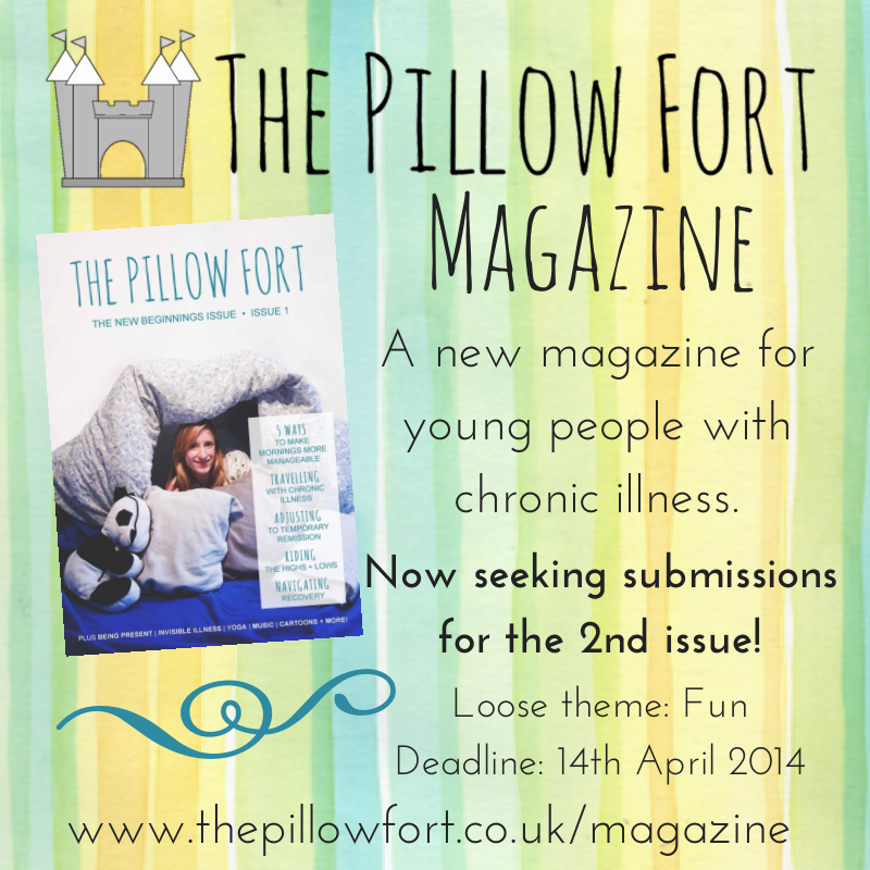 the pillow fort magazine - young people with chronic illness