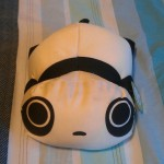 squishy panda pillow