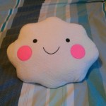 cute cloud cushion