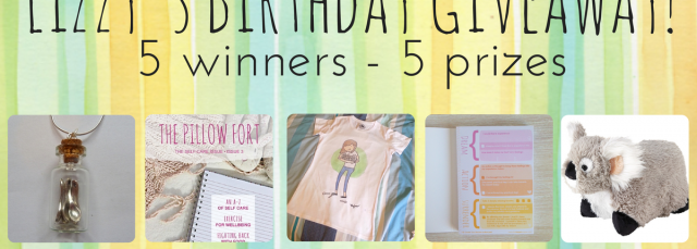 Lizzy's Birthday Giveaway