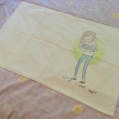 spoonie girl pillowcase