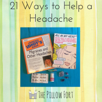 21 ways to help a headache