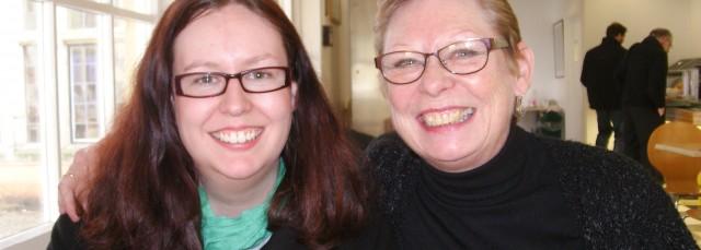Llinos and her mum