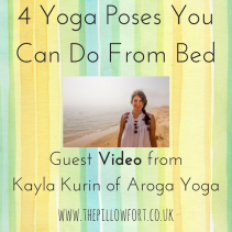 4 Yoga Poses You Can Do From Bed